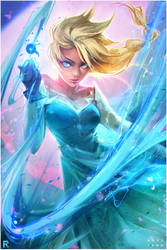 Elsa :YouTube! by rossdraws