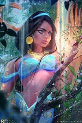 Jasmine : Youtube! by rossdraws