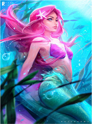 Ariel : YouTube! by rossdraws