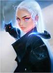 Daenerys and Dragon : YouTube! by rossdraws