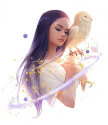 Spirit Owl by rossdraws