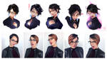 Bayonetta Expressions - YouTube! by rossdraws