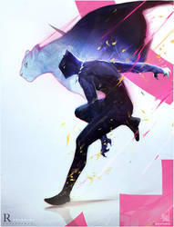 Black Panther Commission! : YouTube by rossdraws