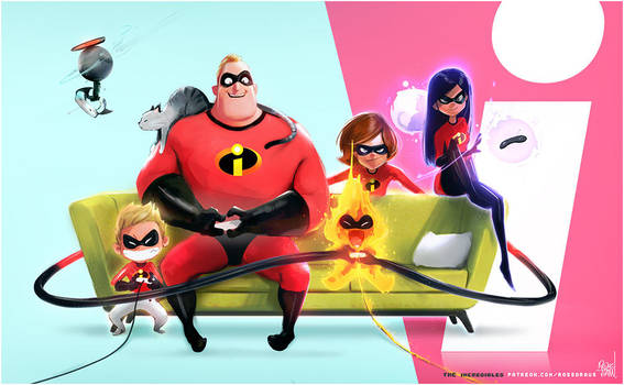The Incredibles: YouTube! by rossdraws