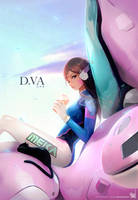 D.Va : YouTube! by rossdraws