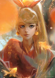 Gold Fishes by rossdraws