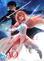 Sword Art Online: YouTube by rossdraws