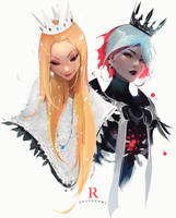 Light and Dark by rossdraws
