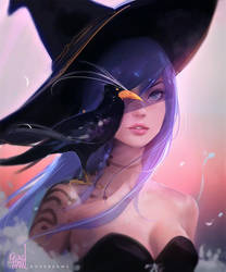 Witchy by rossdraws