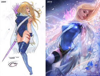 Redrawing my Old Art! - YouTube by rossdraws