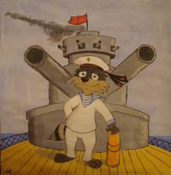 Revolutionary sailor by Timmy-Surikat