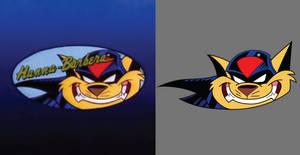 SWAT Kats T-bone Comparison by Kynum