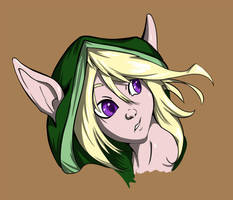 Sarkra Headshot Color by Kynum