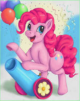 Just Pinkie Pie by nezudomo