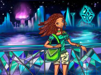 Enjoy the city lights by Nigilia