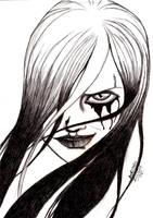 Dark Smile by CrimsonAnaconda