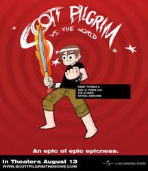 Scott Pilgrim Character by graphyt