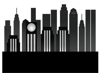 Background Skyline by graphyt