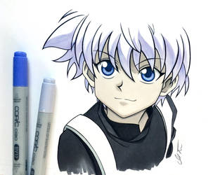 Killua Zoldyck - Hunter x Hunter by repoortmrotS