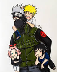 Team 7 - Naruto by repoortmrotS