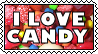 I Love Candy by StampCollectors