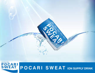 Pocari sweat spinneys stand by ideacreative