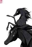Black Beauty by X-ookami