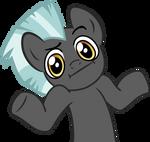 Thunderlane Shrug Pony by ChainChomp2