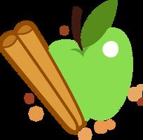Apple Cinnamon Cutie Mark by ChainChomp2