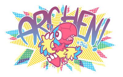 Archen by crayon-chewer