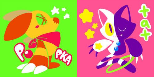 Popka + Tat by crayon-chewer