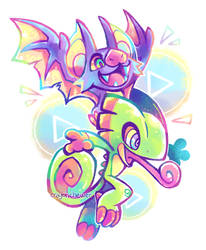 Yooka-Laylee by crayon-chewer