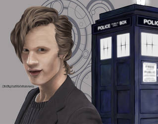 Doctor Who: Matt Smith by MissKingdomVII