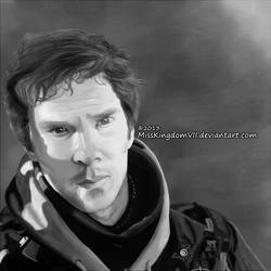 Benedict Cumberbatch by MissKingdomVII