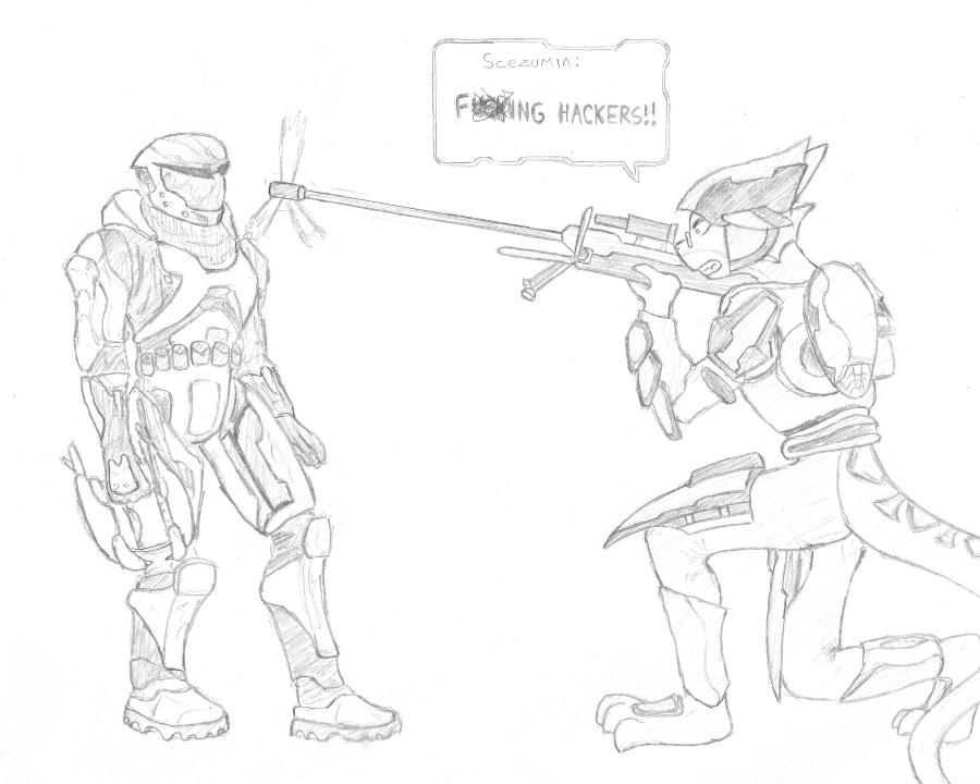 Fscking Hackers by Scezumin
