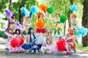Love Live - We cheer for you by SoraPaopu