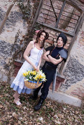 Aerith - Loving Couple by SoraPaopu
