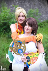 Rikku - friends by SoraPaopu