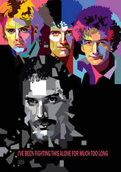 The Queen in WPAP by wedhahai