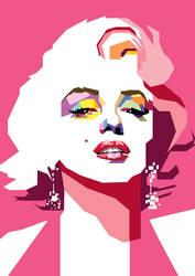 Marilyn Monroe in WPAP by wedhahai