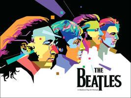 The Beatles 2 in WPAP by wedhahai