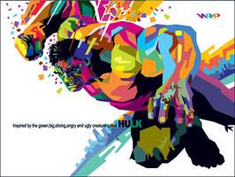 WPAP Hulk. by wedhahai