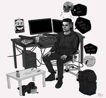 live in the dark by aminenaim