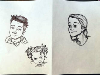Pen Sketches by jaymz-ster28