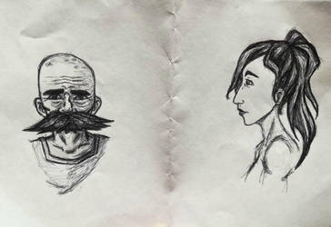 People Sketches by jaymz-ster28