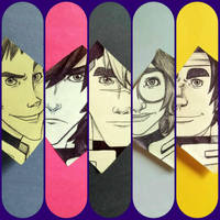 Sticky Notes: The Paladins of Voltron  by jaymz-ster28