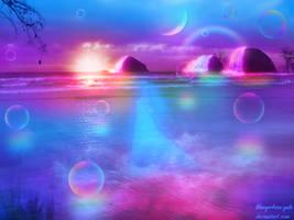 Heaven of dawn by bluegerbera-yuki