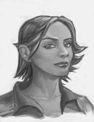 Portrait Commission - Tankette by imDRUNKonTEA