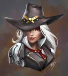 Ashe Portrait by imDRUNKonTEA