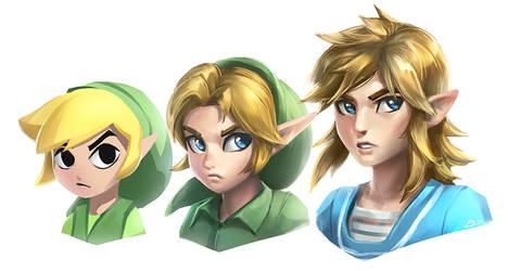 SSBU Link Squad by imDRUNKonTEA